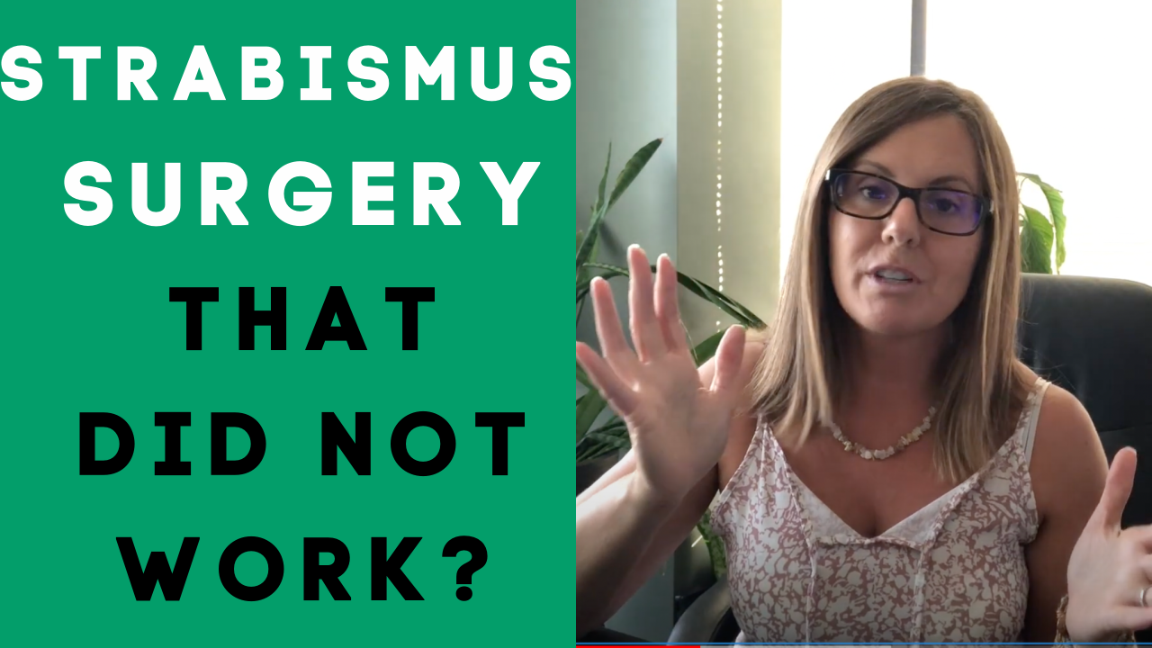 What Happens When Strabismus Surgery Doesn't Work?